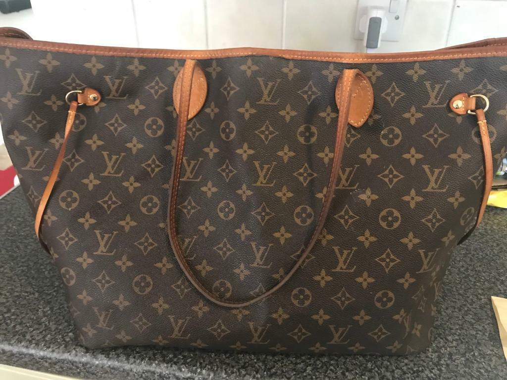 06c646436a91 Genuine Louis Vuitton neverfull vintage monogram GM