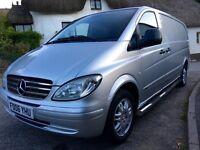 Mercedes vito extra long wheelbase