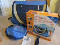 UV Travel Centre and travel cot Delux