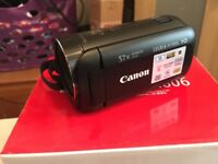 Canon legria HF R806 camcorder 4 months old
