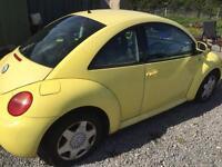 Vw beetle 2.0 petrol breaking alloys