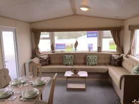 Fantastic family static holiday home at sundrum castle holiday park by AYRA