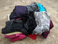 BARGAIN 31 ITEMS FOR £40 ono size 6-10 - mix of womens clothes - Dresses, tops, skirts, trousers etc