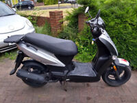 2010 Kymco Agility 125 automatic scooter, new 1 year MOT, low mileage, good runner, good condition,,