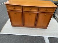 Stylish Sutcliffe of Lancashire teak sideboard / server in good condition.