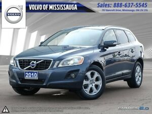2010 Volvo XC60 T6 A LP Roof One Owner, Clean Car Proof, Dealer