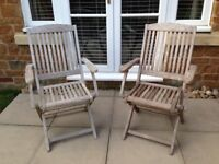 Pair of Garden / Patio Chairs