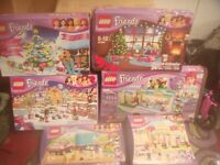 JOBLOT OF LEGO FRIENDS USED AND NEW COMPLETE OVER 40 SETS SELL OR SWAP