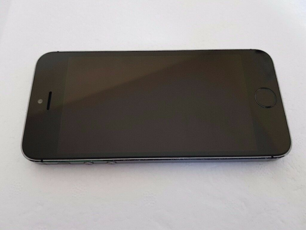 Apple iPhone 5s 16GB Space grey Vodafone UK in reasonable condition with Fingerprint Sensor Fault