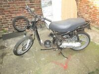 Honda SH50 for spares or repair.