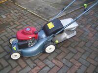 Honda Izy HRG415 Easy Start Petrol Powered Rotary Lightweight Push Lawnmower