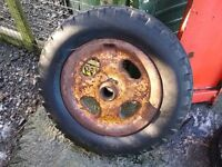 Fordson cast iron front wheel