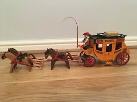 Playmobil Stagecoach and Cowboy Set