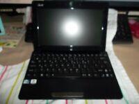 LAPTOP/Netbook Asus EeePC 1011PX Atom 1.66GHz 2 GB RAM 250 GB HDD ** Windows 7 or Win 10