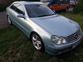 Mercedes Benz CLK 270CDI Auto