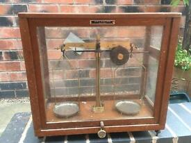 3 x vintage scales
