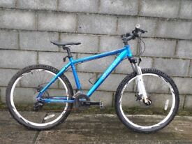 mens blue bike carrera 26''