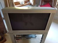 "Phiillips 32"" CRT Dolby Surround TV with Wireless Rear Speakers"