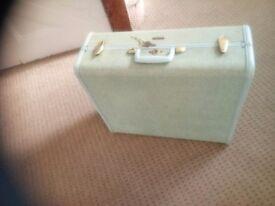 Samsonite vintage suitcase 1940s /1950s