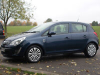 VAUXHALL CORSA 2011 EXCITE AC 1.4 LOW MILEAGE 57,000 ONLY! EXCELLENT CONDITION 12 MONTH M.O.T
