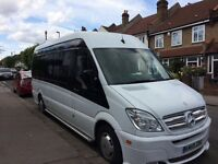 Luxury minibus for school run