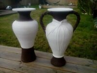 Large decorative outdoor or indoor vases
