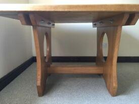 Square dining table - unique, custom designed