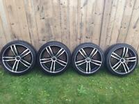 Kobe CORE Racing Rims and Nankang tires 205/40ZR17 84W