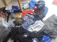 Large clothes bundle boys age 12-14 Ladies 10-12