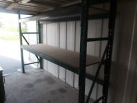 1 BAY OF RACKING VERY GOOD CONDITION