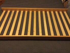 John Lewis pine cot bed