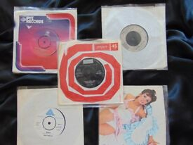 "7"" VINYL SINGLES from the 60's & 70's RARE Lot 1 of 4"