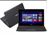 Asus 10.1 inch notebook touchscreen win10