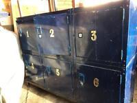 Steel storage locker
