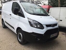 Ford Transit Custom ECO-TECH 2.2 290 L1 /Air Con, Cruise Control, 1 OWNER, S. History, 1YR MOT,95K