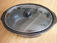 SLOW COOKER POT & LIP FOR SPARES. LARGE SIZE