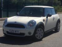 MINI FIRST 2010 (59 REG)**£3699**VERY LOW MILES*LONG MOT*PEPPER WHITE*CAR TO RUN*PX WELCOME*DELIVERY