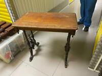 Small old table
