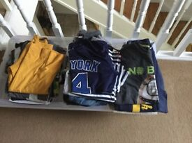 Boys clothes mix of t shirts and jeans