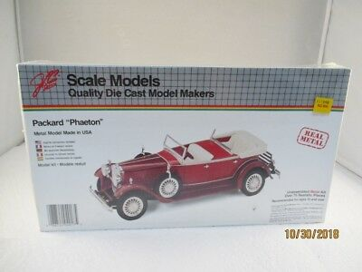 Used, Quality Die Cast Model Makers Packard Phaeton Kit Stock#4017 Sealed for sale  Seymour