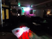 Job Lot - Active Speakers, Lights and 4ft DJ Stand - Offers Around £800