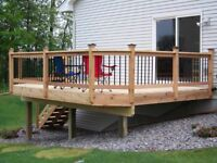 Need a new deck ? Give us a call