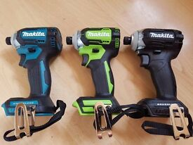 """Makita TD170z """"QUEEN OF IMPACTS""""18v 2016 Lengh 117mm 4 speed 6 function 3800 rpm"""