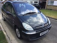 Citreon xsara Picasso exclusive 2004 facelift model automatic 5 door people carrier mpv new mot 72k