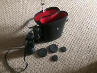 Binoculars, Prinzlux 12 x 50 coated optics. 262 FT, AT 1000 YDS