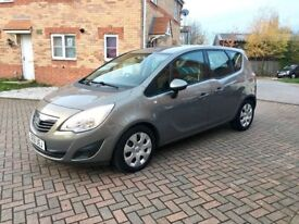 2012 VAUXHALL MERIVA 1.7 DIESEL, FULL SERVICE HISTORY, MOT 12 MONTHS, LOW MILEAGE, HPI CLEAR