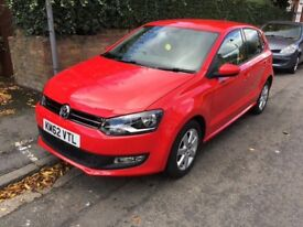 Volkswagen Polo Red 1.2 Petrol Low mileage 2012