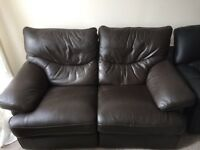 2 FREE leather sofas if willing to collect