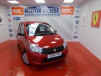 Suzuki Celerio SZ2(£0.00 ROAD TAX)FREE MOT'S AS LONG AS YOU OWN THE CAR!! (red) 2016