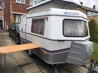 Eriba puck L with full awning